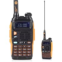 BaoFeng GT-3 Mark-II 128 channels Waterproof Pofung Transceiver FM Two Way Radio Dual Band Walkie Talkie with Frequency Range of 65-108 MHz ,Chipsets Upgraded