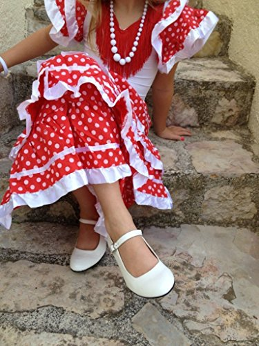 La La Flamenco Shoes White White Flamenco Senorita Senorita Shoes PqwwzW5vc