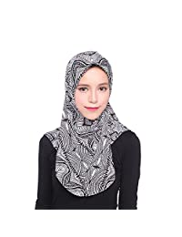 Trenton Womens Plain Instant Viscose Jersey Lightweight Muslim Hijab Scarf