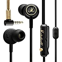 Marshall Mode EQ In-Ear Headphones, Black/Brass (4090940)