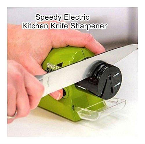 Speedy Electric Kitchen Knife Sharpener Multifunction Swifty Sharp Smart Sharp from Unknown