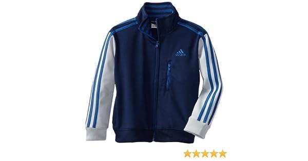 Amazon.com: adidas Little Boys Varsity Warm Up Jacket, Navy/Blue, 2T: Athletic Warm Up And Track Jackets: Clothing
