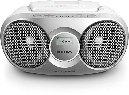 Philips AZ215S/12 CD-Player (Radio, 3 Watt) silber
