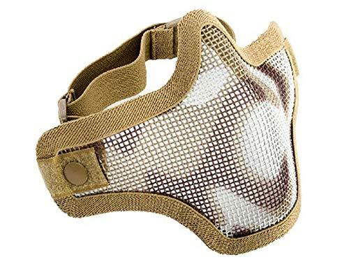 Firepower Mesh Half Mask, Single Strap, Desert ()