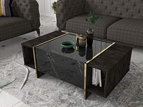 MAKENZA Veyron Coffee Table Modern Elegant Living...