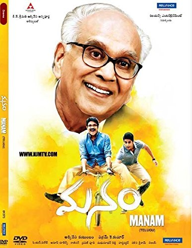 Manam 2014 Hindi Dubbed HDRip 480p 400MB MKV