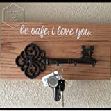 Decorative Wall Mounted Cast Iron Key Holder
