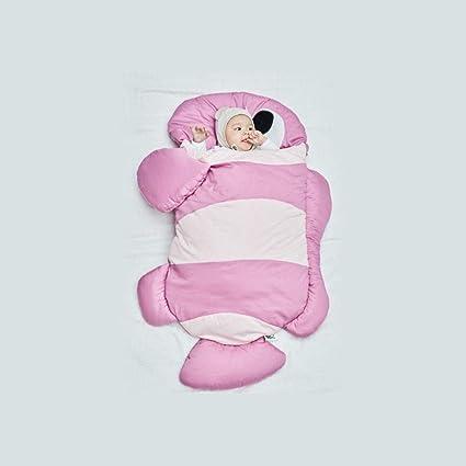 OUTAI Bebé Bolsa de Dormir niño Saco tiburón Saco de Dormir niños Saco algodón bebé Anti