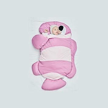 OUTAI Bebé Bolsa de Dormir niño Saco tiburón Saco de Dormir niños Saco algodón bebé Anti-Kick Abrazo pez Payaso otoño/Invierno: Amazon.es: Hogar