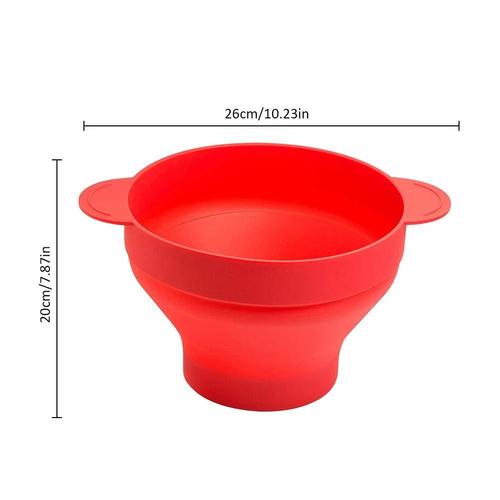 heresell Cubo de Silicona Plegable Horno de microondas Innovador ...