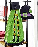 kitchen witch hanging - 2 Pc Towel & Pot Holder Halloween Kitchen Set (witch)