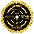 DEWALT DW9196 6-1/2-Inch 40T Cutting Precision Finishing Saw Blade from DEWALT