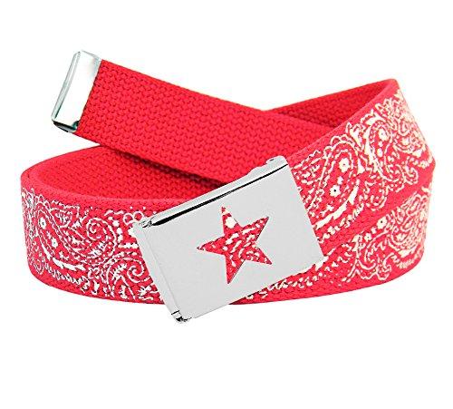 Xx Large Red Bandana - 6