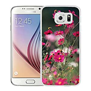 New Beautiful Custom Designed Cover Case For Samsung Galaxy S6 With Nature Little Flower Branch (2) Phone Case
