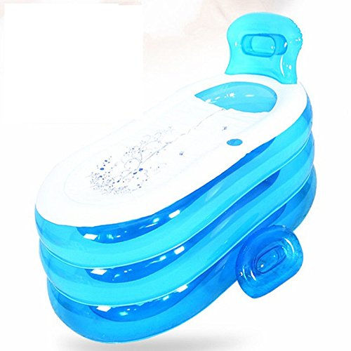 Cyhione Bañera Inflable Cuchara de plástico retráctil de ...