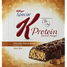 Special K Protein Meal Bar, Chocolate Peanut Butter (1.59-Ounce), 8-Count Bars (Pack of 2)