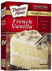 Amazon Com Duncan Hines Signature French Vanilla Cake