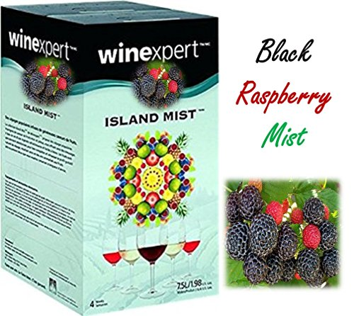 Island Mist Black Raspberry Merlot Wine Kit by Winexpert