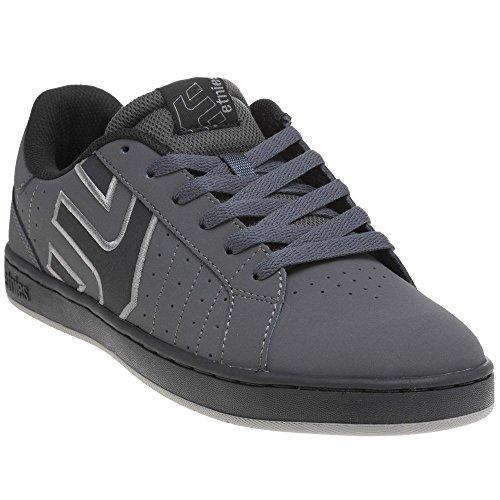 Etnies Men's Fader Ls Skateboarding Shoe, Dark Grey/Black, 10.5 M (Etnies Fader Skateboarding Shoes)
