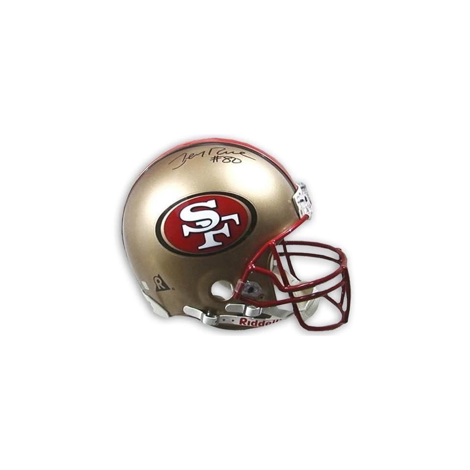 NFL Raiders Jerry Rice Autographed Helmet