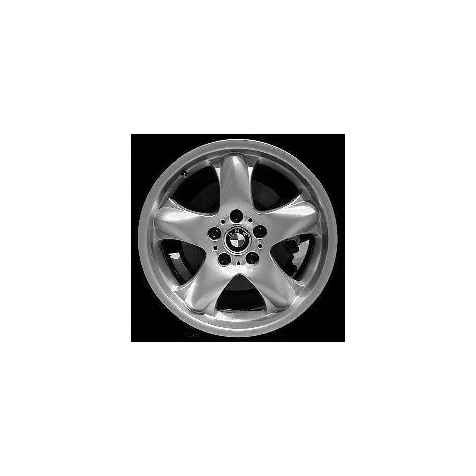 00 03 BMW X5 ALLOY WHEEL RIM 18 INCH SUV, Diameter 18, Width 8.5 (5 ROUND SPOKE), 48mm offset, SILVER, 1 Piece Only, Remanufactured (2000 00 2001 01 2002 02 2003 03) ALY59321U10
