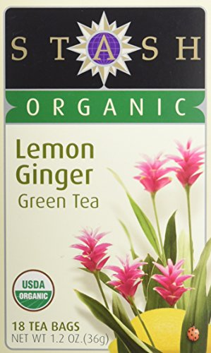 - Stash Tea Tea Grn Lemon Ginger