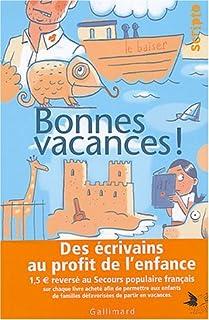 Bonnes vacances!, Arrou-Vignod, Jean-Philippe