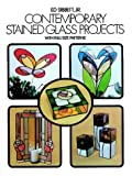 Contemporary Stained Glass Projects with Full-Size Patterns, Ed Sibbett, 0486235599