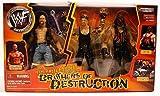 WWF The Texas Rattle Snake Take on the Brother of Destruction Box Set Kane ,Undertaker & Stone Cold Steve Austin by Jakks Pacific