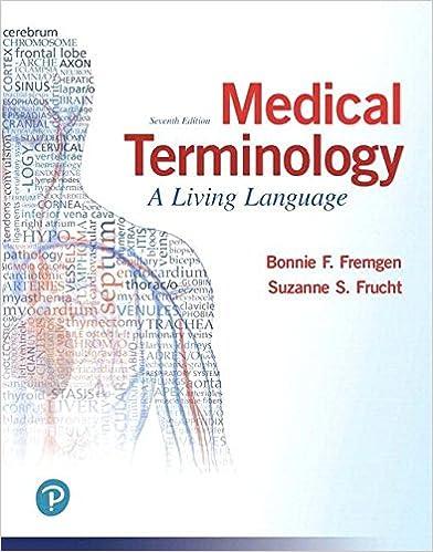 Medical Terminology A Living Language Plus Mylab Medical