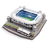 Giochi Preziosi 70202011 - Puzzle 3D Stadio Santiago Bernabeu Real Madrid, 160 pz., 7+ anni