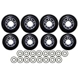 OUTDOOR Roller Hockey Wheels HILO 72/80 ABEC 9 BEARINGS