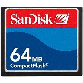 SanDisk SDCFB 64 A10 CompactFlash 64 MB