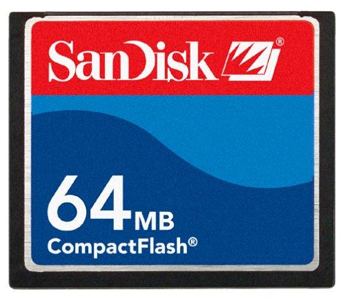 SanDisk SDCFB-64-A10 CompactFlash 64 MB by SanDisk