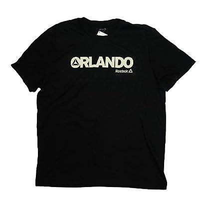 6814383f Amazon.com: Reebok Men's Crossfit Orlando, FL Logo T-Shirt (Black ...