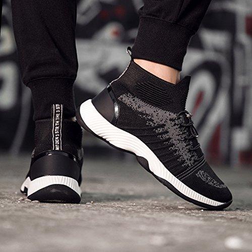 Men's 40 high Spring shoes Leisure Mesh nbsp; section GUNAINDMX black nbsp;Sports wzqxHE1