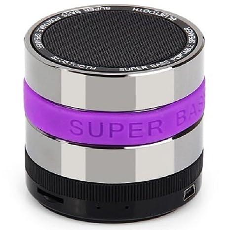 Monstercube JT Mini Subwoofer speaker altavoz portatil con bluetooth y microfono,Potente Altavoz Inalambrico Equipado