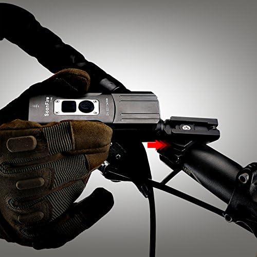 Añadiendo al carrito...Añadido a la cestaNo añadidoNo añadidoSoon Fire fd38s LED para bicicleta, luz muy clara impermeable vorderlicht bicicleta batería USB, 2* CREE XM-L2LED con un alcance efectivo de 167M, fácil construir y de Construir frente