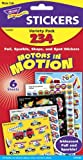 Motors in Motion Children's Stickers - Value Pack