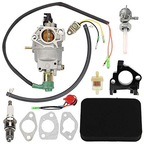 Panari EB3500 Carburetor for Honda Generator EB3500X EB3800 EM3500X EM3500SX EM3800SX EW140 with Air Fuel Filter