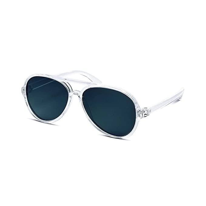 cce60de866 Image Unavailable. Image not available for. Color  Hipsterkid Baby Aviators  - Polarized Sunglasses w Strap - Kids Girl Boy -