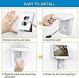 Wall Outlet Shelf Holder Charging Socket Power