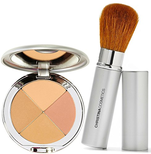Perfect Pigment Cosmetics - Christina Cosmetics Perfect Pigment 3 Compact and Retractable Brush Duo!