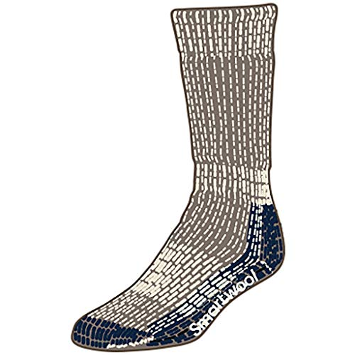 Taupe Extra Moutaineering Smartwool Chaussettes Heavy 236 Crew B0vUw