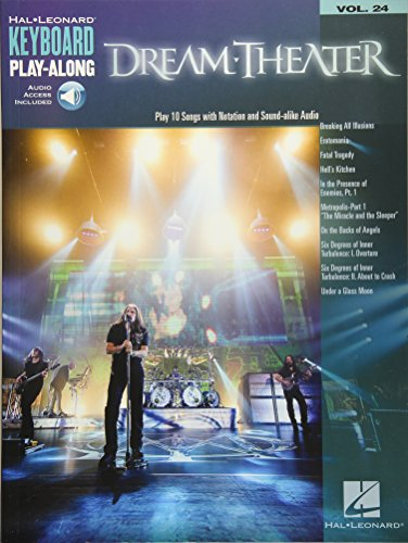 Dream Theater: Keyboard Play-Along Volume 24 (Hal Leonard Keyboard Play-Along)