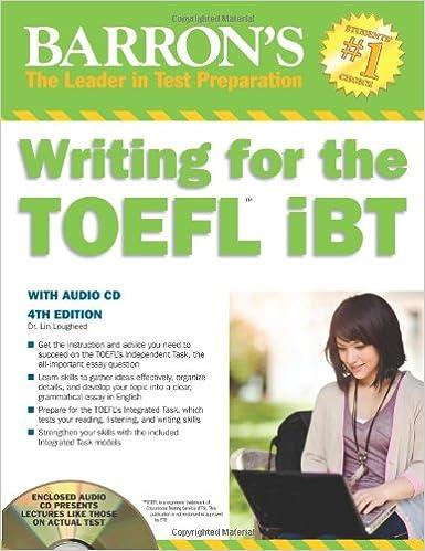 TOEFL writing?