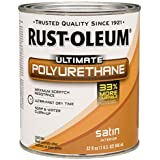 Rust-Oleum 260163 Ultimate Polyurethane, Quart, Satin