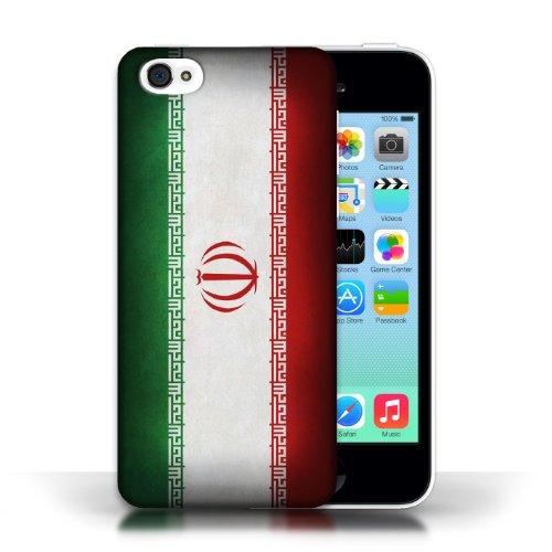 Etui / Coque pour Apple iPhone 5C / Iran conception / Collection de Drapeau