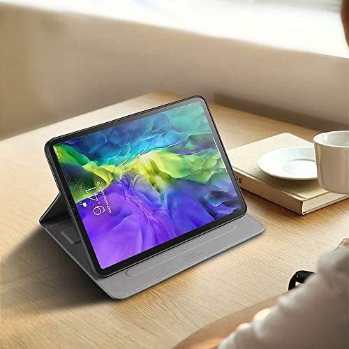 X-level Compatible with iPad Pro 11 Case 2020 & 2018 Premium PU Leather Multiple Viewing Angles Stand Cover with Auto Wake/Sleep Card Pocket and Pencil Holder for iPad Pro 11 2d & 1st Gen