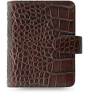 Amazon.com : Filofax Classic Croc Print Leather Organizer ...